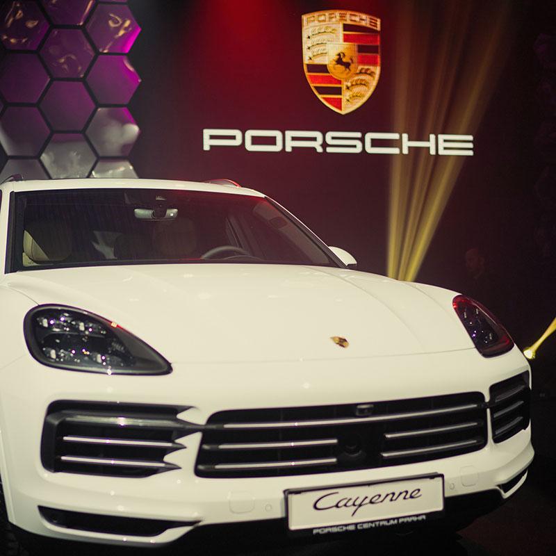Porsche cayenne - představení