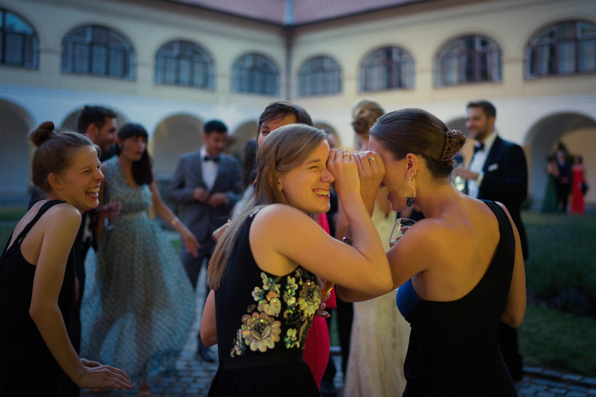 svatba Evy a Toma - Praha - Vrtbovská zahrada