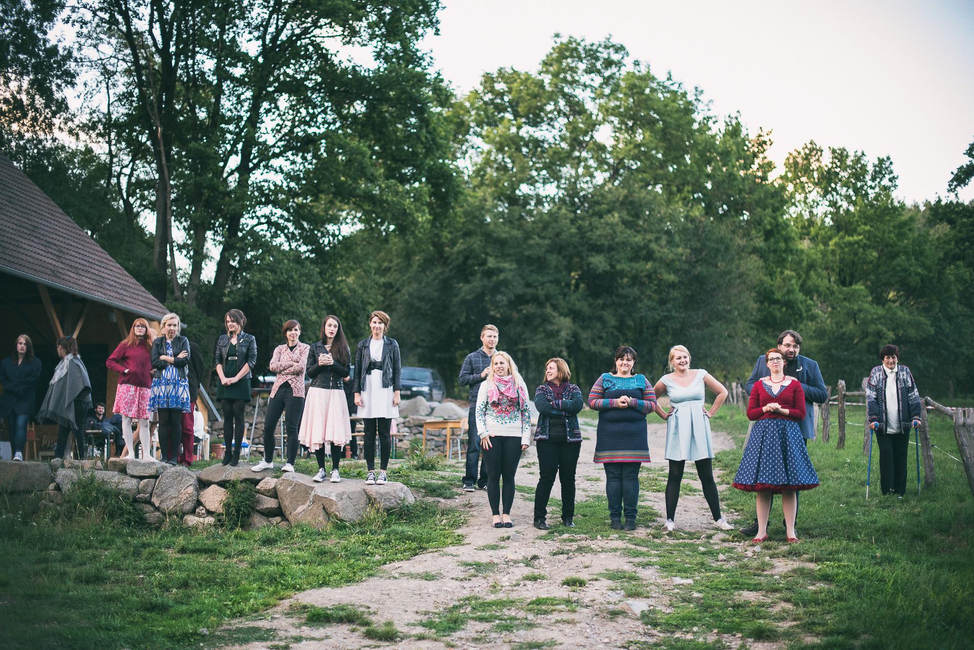 fotografie ze svatby v Bistru Ledce