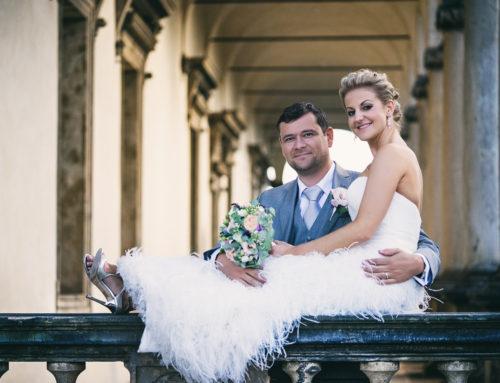 Svatba na Letenské Zámečku