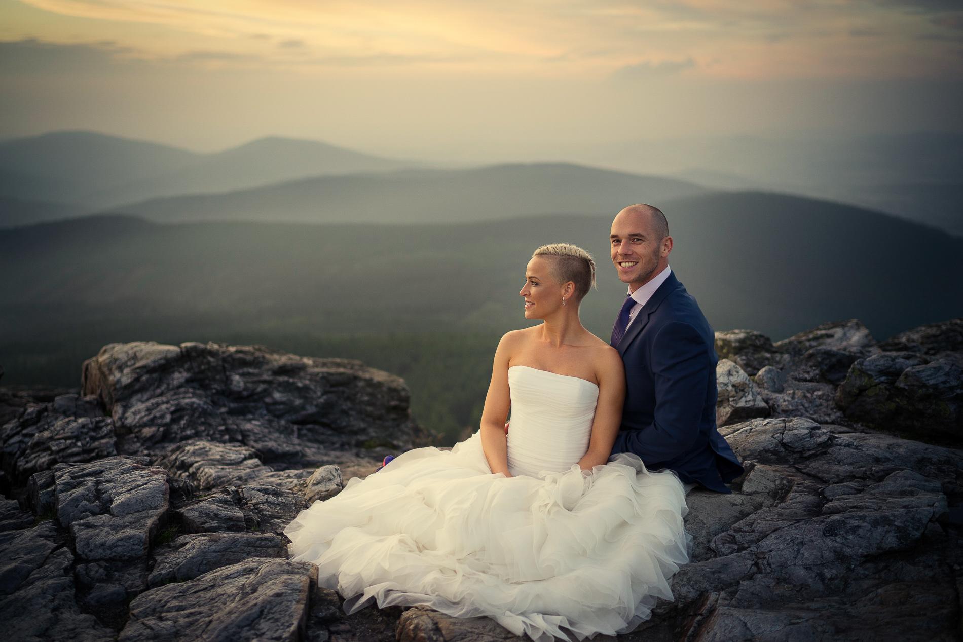 svatba - Ještěd